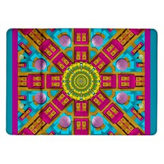 Sunny And Bohemian Sun Shines In Colors Samsung Galaxy Tab 10 1  P7500 Flip Case by pepitasart