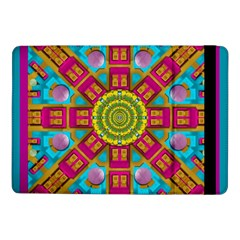 Sunny And Bohemian Sun Shines In Colors Samsung Galaxy Tab Pro 10 1  Flip Case by pepitasart