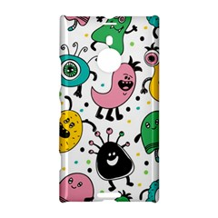 Cute And Fun Monsters Pattern Nokia Lumia 1520 by allthingseveryday