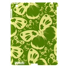 Pale Green Butterflies Pattern Apple Ipad 3/4 Hardshell Case (compatible With Smart Cover) by allthingseveryday