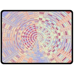 Gateway To Thelight Pattern  Double Sided Fleece Blanket (large)  by Cveti