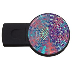 Gateway To Thelight Pattern 4 Usb Flash Drive Round (2 Gb) by Cveti
