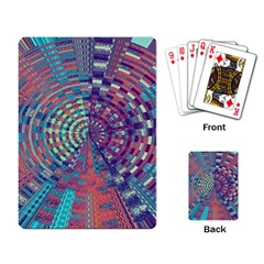 Gateway To Thelight Pattern 4 Playing Card by Cveti