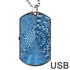 Gateway To Thelight Pattern 5 Dog Tag Usb Flash (two Sides) by Cveti