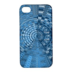 Gateway To Thelight Pattern 5 Apple Iphone 4/4s Hardshell Case With Stand by Cveti
