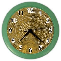 Gatway To Thelight Pattern 4 Color Wall Clocks by Cveti