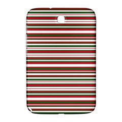 Christmas Stripes Pattern Samsung Galaxy Note 8 0 N5100 Hardshell Case  by patternstudio