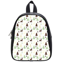 Reindeer Tree Forest School Bag (small) by patternstudio