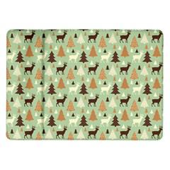 Reindeer Tree Forest Art Samsung Galaxy Tab 10 1  P7500 Flip Case by patternstudio
