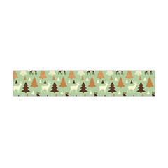Reindeer Tree Forest Art Flano Scarf (mini) by patternstudio