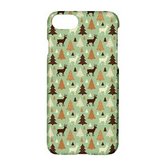 Reindeer Tree Forest Art Apple Iphone 7 Hardshell Case by patternstudio