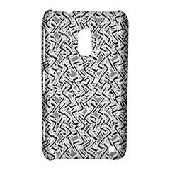 Wavy Intricate Seamless Pattern Design Nokia Lumia 620 by dflcprints