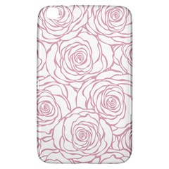Pink Peonies Samsung Galaxy Tab 3 (8 ) T3100 Hardshell Case  by 8fugoso