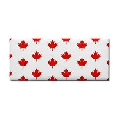 Maple Leaf Canada Emblem Country Cosmetic Storage Cases by Celenk
