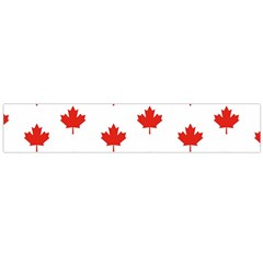 Maple Leaf Canada Emblem Country Large Flano Scarf  by Celenk