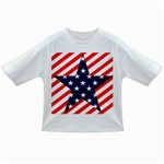 Patriotic Usa Stars Stripes Red Infant/Toddler T-Shirts