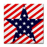 Patriotic Usa Stars Stripes Red Face Towel