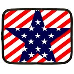 Patriotic Usa Stars Stripes Red Netbook Case (XL)