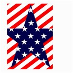 Patriotic Usa Stars Stripes Red Large Garden Flag (Two Sides)