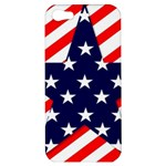 Patriotic Usa Stars Stripes Red Apple iPhone 5 Hardshell Case
