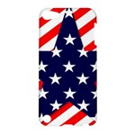 Patriotic Usa Stars Stripes Red Apple iPod Touch 5 Hardshell Case