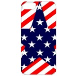 Patriotic Usa Stars Stripes Red Apple iPhone 5 Classic Hardshell Case