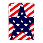 Patriotic Usa Stars Stripes Red Apple iPad Mini Hardshell Case (Compatible with Smart Cover)