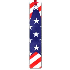 Patriotic Usa Stars Stripes Red Large Book Marks by Celenk