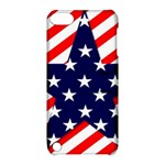 Patriotic Usa Stars Stripes Red Apple iPod Touch 5 Hardshell Case with Stand