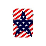 Patriotic Usa Stars Stripes Red Apple iPad Mini Protective Soft Cases