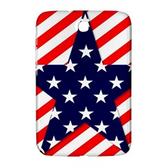 Patriotic Usa Stars Stripes Red Samsung Galaxy Note 8 0 N5100 Hardshell Case  by Celenk