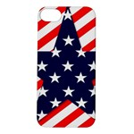 Patriotic Usa Stars Stripes Red Apple iPhone 5S/ SE Hardshell Case