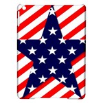Patriotic Usa Stars Stripes Red iPad Air Hardshell Cases