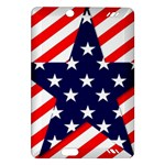 Patriotic Usa Stars Stripes Red Amazon Kindle Fire HD (2013) Hardshell Case