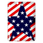 Patriotic Usa Stars Stripes Red Kindle Fire HDX Hardshell Case
