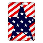 Patriotic Usa Stars Stripes Red Kindle Fire HDX 8.9  Hardshell Case