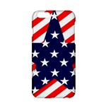 Patriotic Usa Stars Stripes Red Apple iPhone 6/6S Hardshell Case