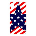 Patriotic Usa Stars Stripes Red Apple iPhone X Hardshell Case