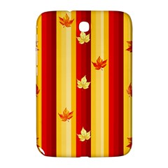 Autumn Fall Leaves Vertical Samsung Galaxy Note 8 0 N5100 Hardshell Case  by Celenk