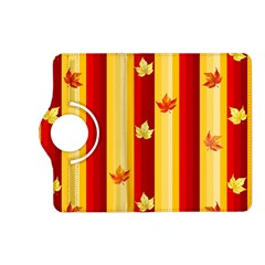 Autumn Fall Leaves Vertical Kindle Fire Hd (2013) Flip 360 Case by Celenk