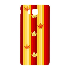Autumn Fall Leaves Vertical Samsung Galaxy Alpha Hardshell Back Case by Celenk