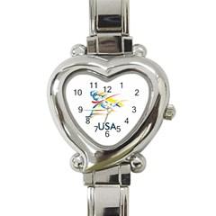 F686a000 1c25 4122 A8cc 10e79c529a1a Heart Italian Charm Watch by MERCH90