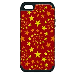 Star Stars Pattern Design Apple Iphone 5 Hardshell Case (pc+silicone) by Celenk