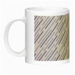 Halloween Lilac Paper Pattern Night Luminous Mugs by Celenk