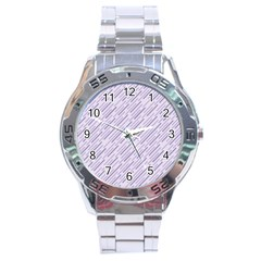 Halloween Lilac Paper Pattern Stainless Steel Analogue Watch by Celenk
