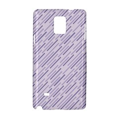 Halloween Lilac Paper Pattern Samsung Galaxy Note 4 Hardshell Case by Celenk