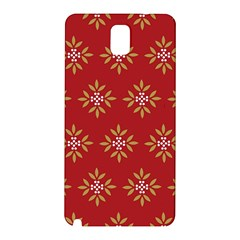 Pattern Background Holiday Samsung Galaxy Note 3 N9005 Hardshell Back Case by Celenk