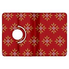 Pattern Background Holiday Kindle Fire Hdx Flip 360 Case by Celenk