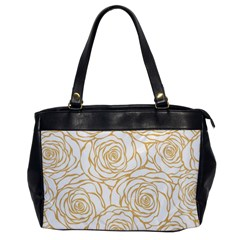 Yellow Peonies Office Handbags by 8fugoso