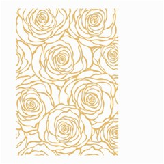 Yellow Peonies Small Garden Flag (two Sides) by 8fugoso